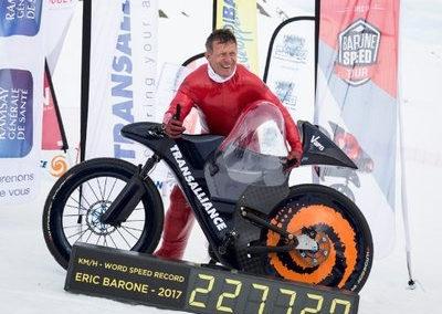 Eric Barone, Cyclisme (VTT)
