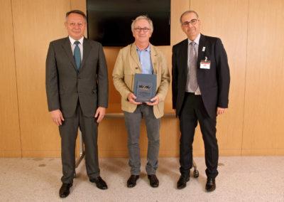 Franck RIBOUD (Président du CA Danone) - Thierry BRAILLARD (Secrétaire d'État aux Sports) - Jean-Luc SADIK (Président de TPS Conseil) 2