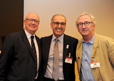 Jean-Lou CHARON (FF Golf) - Jean-Luc SADIK (Président de TPS Conseil) - Franck RIBOUD (Président du CA Danone)