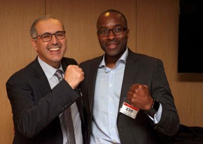 Jean-Luc SADIK (Président de TPS) - John DOVI (FF de Boxe)