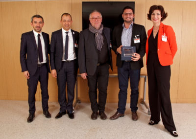 Mathieu ROSY (UNIMEV) - Dominique CARLACH (MEDEF) - Yannick LE CLEAC'H - Anthony PINON - Djamel CHEIKH (CREPS Bourges) 2