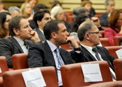 Photo d'ambiance à l'Assemblée Nationale - Troisième Rang