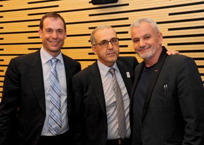 Romain ANSELMO (Lauréat 2015) - Jean-Luc SADIK (Président TPS Conseil) - Philippe BANA (ASDTN)
