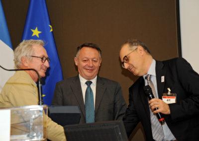 Thierry BRAILLARD (Secrétaire d'État aux Sports) - Franck RIBOUD (Président du CA Danone) - Jean-Luc SADIK (Président de TPS Conseil) 1