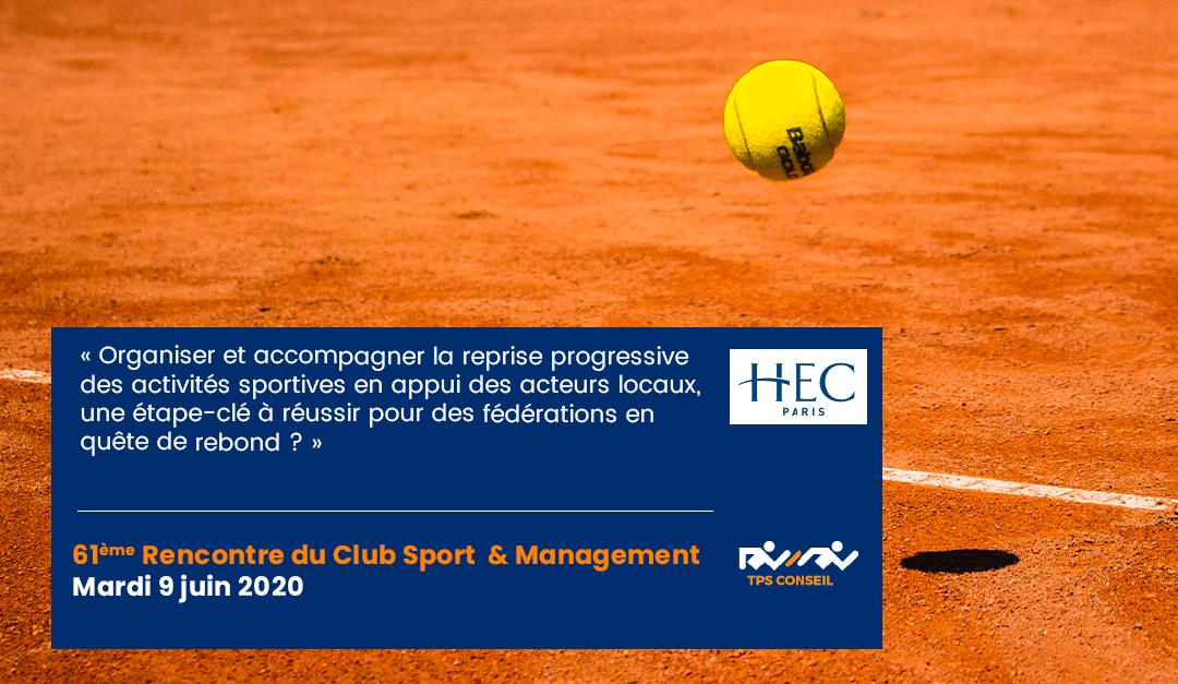 61ème Rencontre du Club Sport & Management