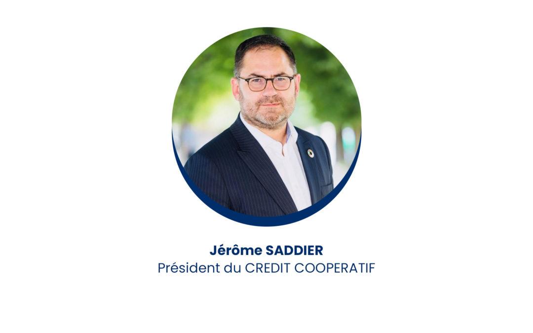 Jérôme Saddier – Président du Crédit Coopératif