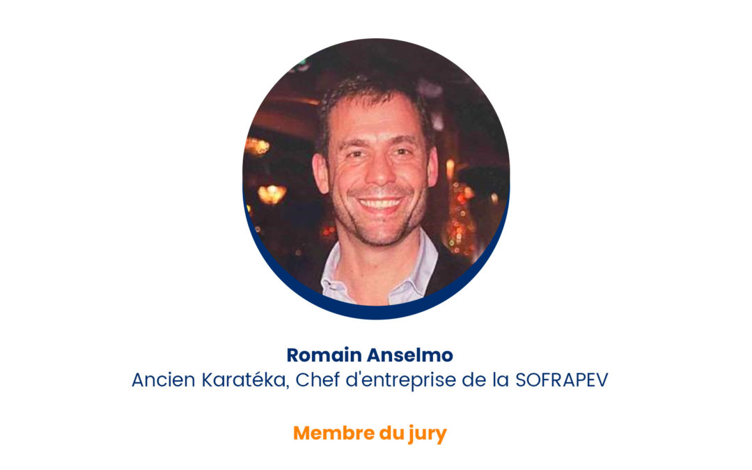 Romain Anselmo – Membre du jury
