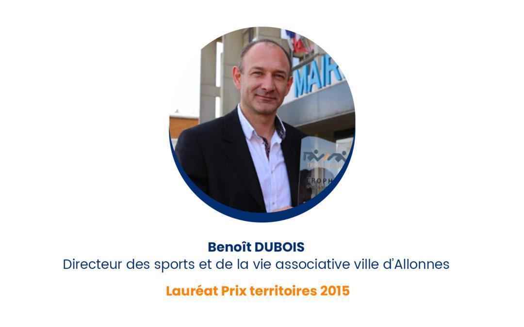 Benoît DUBOIS – Lauréat Prix territoires 2015