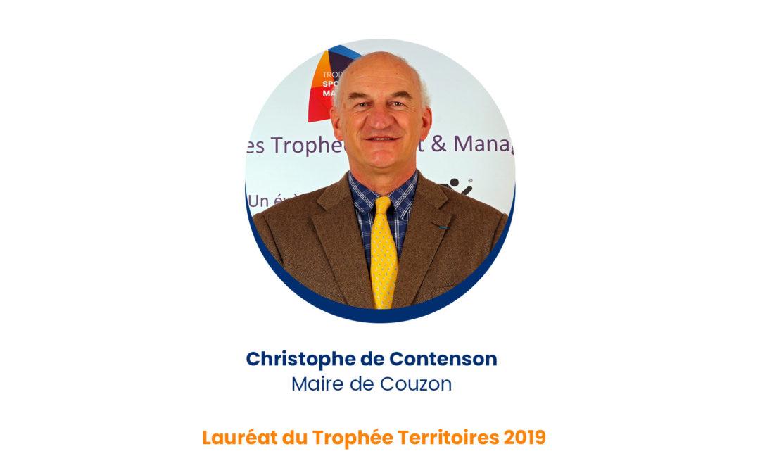 Christophe de Contenson – Lauréat du Trophée Territoires 2019