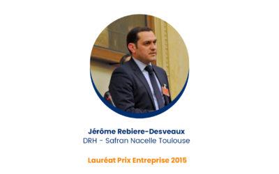 Jérôme Rebiere-Desveaux – Lauréat Prix Entreprise 2015