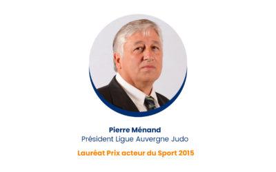 Pierre Ménand – Lauréat Prix acteur du Sport 2015