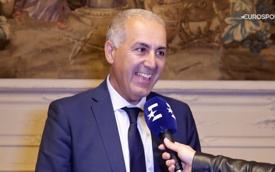 """Eurosport- Jean-luc Sadik : """"Les trophées sont une demande des acteurs de terrain, des clubs et du territoire"""""""